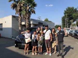 千葉県のF様にUSトヨタ シエナSEをご納車させていただきました。