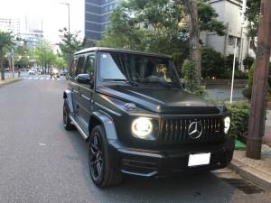 大阪府のN社長様に新車メルセデスベンツ G63 マットブラックエディションをご納車させて頂きました。
