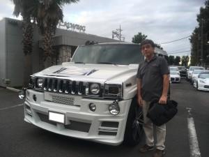 埼玉県にお住まいのI社長様にハマーH2 リムジンインテリアをご納車させて頂きました!