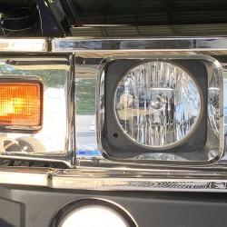 ハマー H2 ヘッドライト LED 交換 カスタム