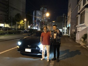 北海道のI社長様に新車マスタング V8 GTプレミアム コンバーチブルをご納車させて頂きました