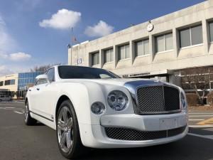 ベントレー ミュルザンヌ 予備検査 整備 Bentley Mulsanne