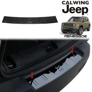 JEEP/ジープ RENEGADE/レネゲード '15y- | リアバンパーシルカバー ブラッククローム ステンレススチール【アメ車パーツ】