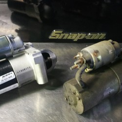 ハマー H2 エンジンかからない スターター交換 故障