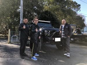 東京都のK社長様にラングラー アンリミテッド LA BAD WRANGLERをご納車させていただきました!