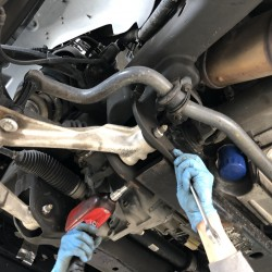 シボレー タホ デフ交換 修理 板金 故障