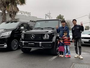 2台目のご購入ありがとうございます!埼玉県のE社長様にメルセデスベンツ G63 AMGをご納車させて頂きました!