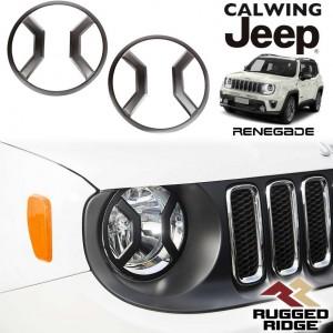 JEEP/ジープ RENEGADE/レネゲード '15y- | ヘッドライトガード RUGGED RIDGE/ラギッドリッジ【アメ車パーツ】