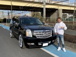 東京都のM様にキャデラック エスカレード プラチナムをご納車させていただきました!