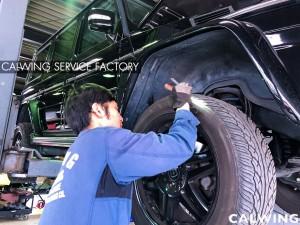メルセデスベンツ Gクラス。ゲレンデの車検点検整備を行っています。エンジンオイル漏れを発見しました。漏れの量が多めなので修理お見積りを行います。走行距離も8万キ […]