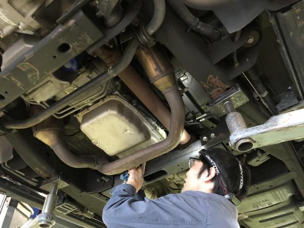 タホ 車検 整備 ATF交換 ATフィルター交換 カメラ調整