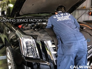 '15 エスカレード エンジン修理です。エンジンチェックランプが点灯し、エンジンから異音が発生している状態でした…。レッカー入庫となりました。点検の結果エンジン左側からの異音でした。& […]