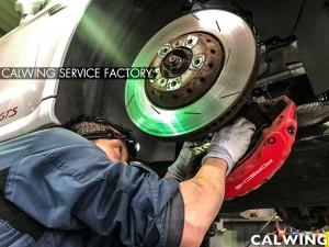 ポルシェパナメーラのブレーキ整備です。いつも弊社でメンテナンス頂いている車輌で、状態がとても良い車輌でした。今回の車検ではブレーキパッド交換を行います。こちらの車輌はパッドセンサーがあ […]