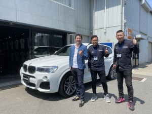 埼玉県のK様に BMW X3 20d Mスポーツをご納車させていただきました。