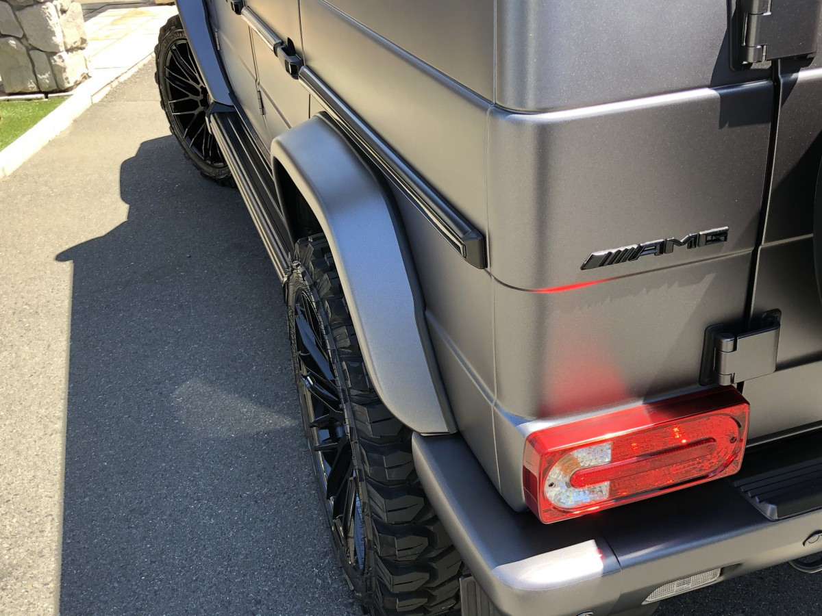 メルセデス ベンツ MERCEDES BENZ G550 ゲレンデ ラッピング 塗り分け ペイント SAVINI サビーニ ホイール カスタム G63 G350d