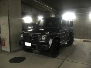 東京都のK社長様にメルセデス ベンツ G550ラッピングカスタムをご納車させていただきました。