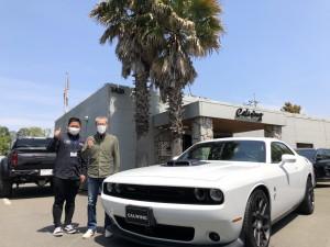 2台目のご成約ありがとうございます。神奈川県のW様に新車 ダッジチャレンジャー スキャットパックシェイカーをご納車させていただきました。