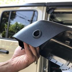 ジープ グラディエーター オーバーランド サイドカメラ取付 前後ドラレコ JEEP GLADIATOR