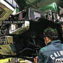 ハマー H2 タイロッドエンド 車検整備 点検 修理