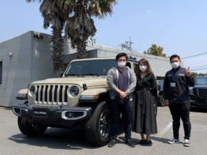 埼玉県のS様に新車ジープ グラディエーター オーバーランド ゴビカラーをご納車させていただきました!