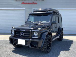 埼玉県のM社長様にG550L WALD Black Bison Edition をご納車させて頂きました!