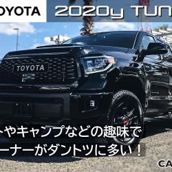 2020年モデル トヨタ タンドラを新車カタログに更新いたしました。