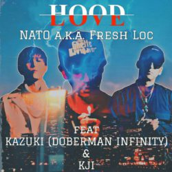 NATO a.k.a Fresh Locさん、KJIさん、ドーベルマンインフィニティKAZUKIさんの新曲「HOOD LOVE」音源リリース&MVフルバージョンが解禁となりました。