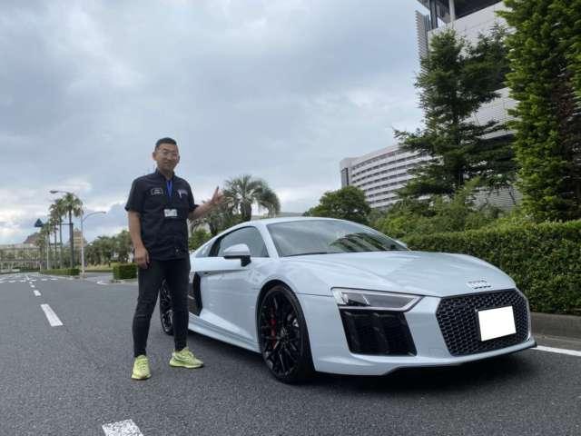 千葉県のN社長様に アウディ R8 V10をご納車させていただきました。