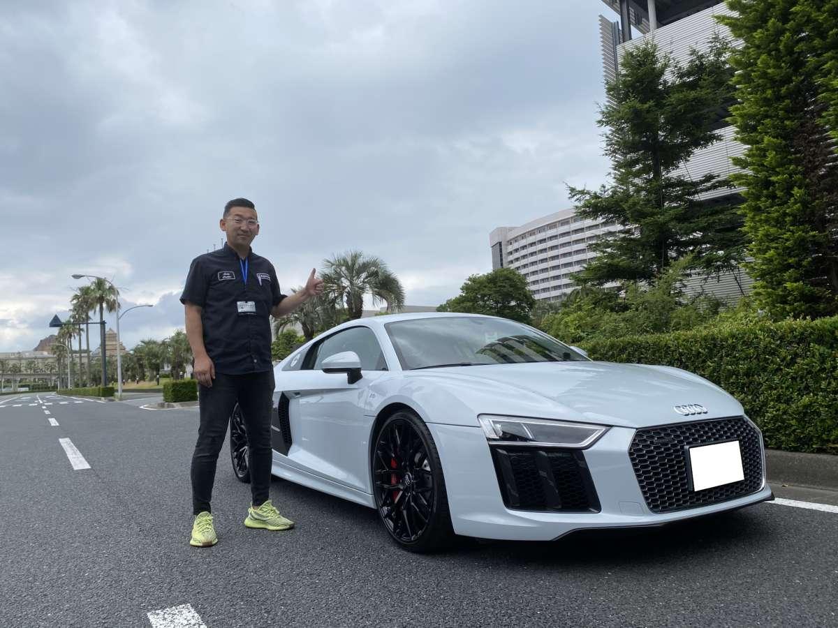 千葉県のN社長様に アウディ R8 V10をご納車させていただきました!