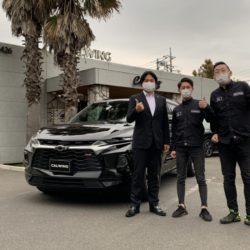 2台目のご購入有難う御座います!埼玉県のT様に希少 シボレー 新型 ブレイザー RSをご納車させて頂きました!