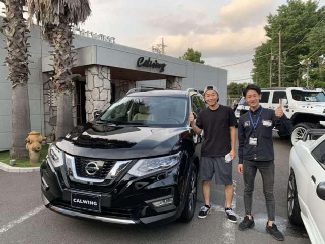 埼玉県のY様に新車 ニッサン エクストレイル プラチナムエディション 左ハンドルをご納車させて頂きました!