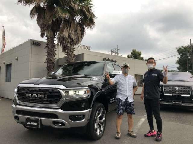 千葉県のS社長様に新車ラム1500 リミテッドをご納車させて頂きました!