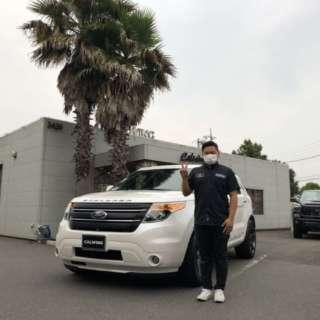 2台目のご購入有り難うございます!埼玉県のA様にフォード エクスプローラー 200台限定車 リミテッドエコブーストをご納車させていただきました。