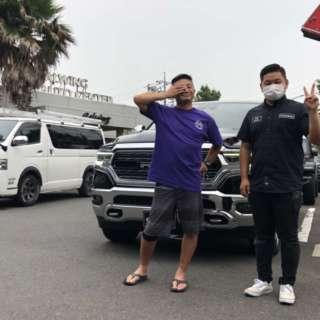 東京都のH社長様に新車ラムトラック リミテッドをご納車させて頂きました!