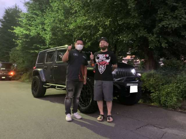 東京都のK社長様に ジープ ラングラー カリフォルニアマッドスターをご納車させて頂きました!