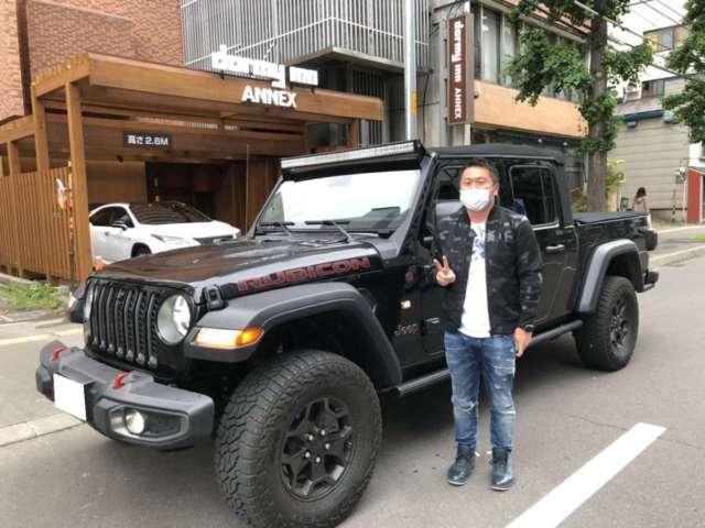 北海道のM社長様 新車 ジープ グラディエーター ルビコンをご納車させて頂きました!
