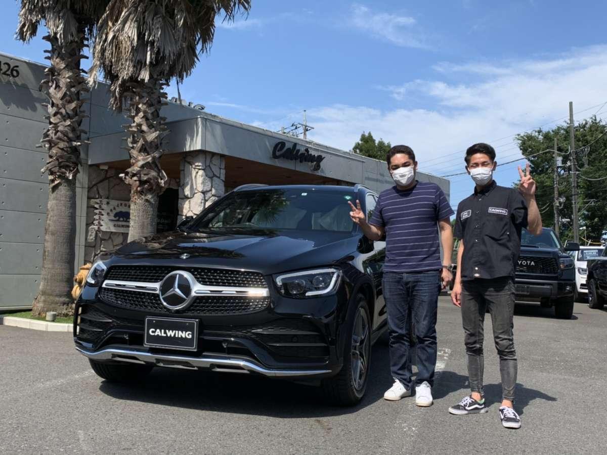 千葉県のT社長様に新車 メルセデスベンツ GLC220dをご納車させて頂きました!