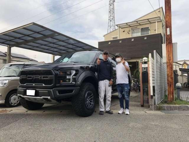兵庫県のY社長様に新車ラプターをご納車させて頂きました!