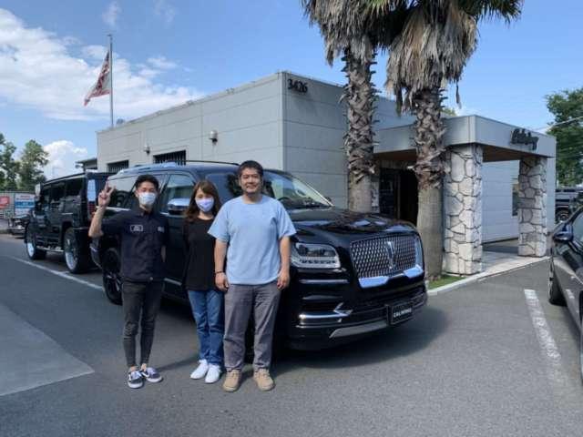 茨城県のO社長様に新車ナビゲーター ブラックレーベルをご納車させて頂きました!