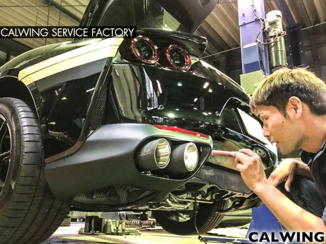フェラーリ 812 スーパーファスト マフラーカスタム パワークラフトハイブリッドエキゾーストシステム マフラー音切り替え可能