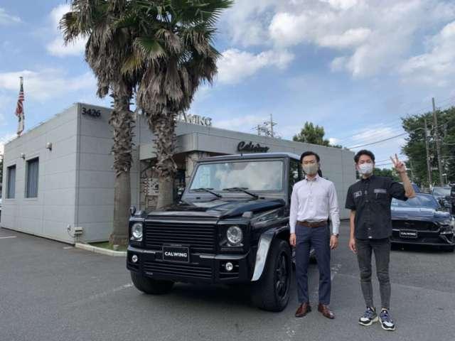 東京都のS様にメルセデスベンツ G500 BURABUS Verをご納車させて頂きました。