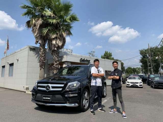 埼玉県のI社長様にメルセデスベンツ GL550 エクスクルーシブPKGをご納車させて頂きました!