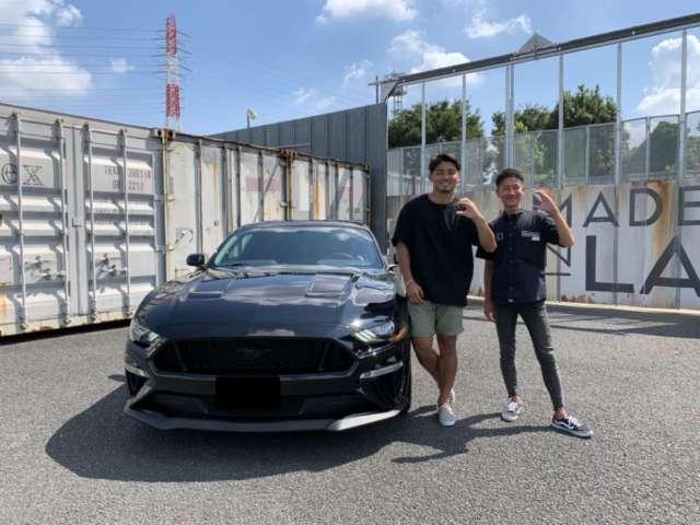 プロラグビー選手 パナソニックワイルドナイツ #11 竹山 晃暉 選手に新車 フォード マスタング GT パフォーマンスPKGをご納車させて頂きました!