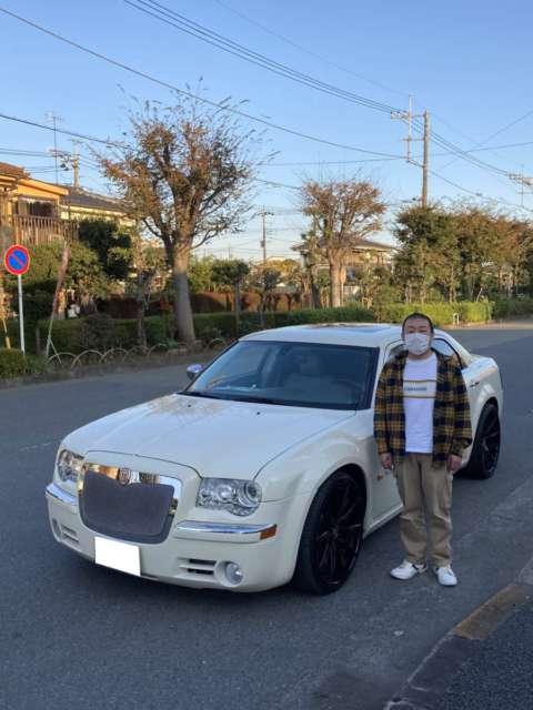 東京都のH様にクライスラー300C 5.7HEMI 後期モデルをご納車させて頂きました!