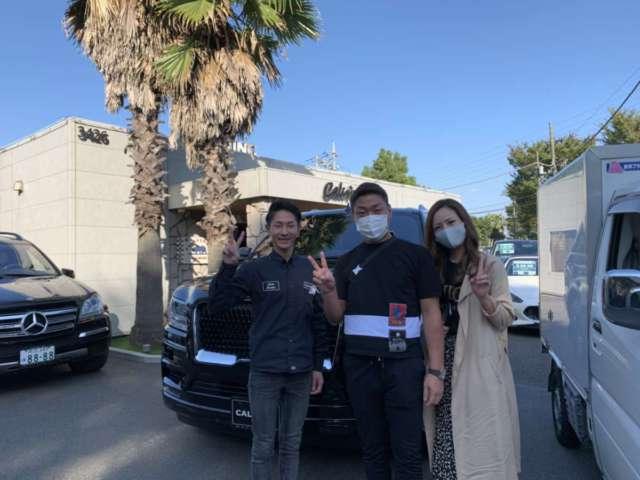 東京都のS社長様に新車 リンカーン ナビゲーター モノクロマティックPKGをご納車させて頂きました!