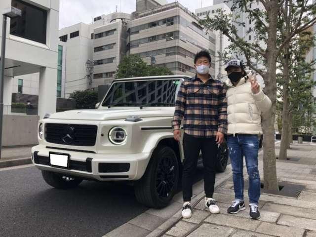 7台目のご購入有難うございます!東北楽天ゴールデンイーグルス #3  浅村栄斗選手に新車メルセデスベンツ G350dをご納車させて頂きました!