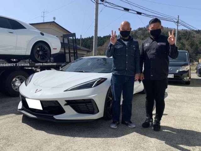 2台目のご購入有難う御座います!福島県のY様に新型 シボレー コルベット スティングレイをご納車させて頂きました!
