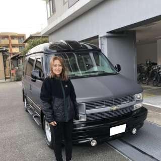 福岡県のM社長様にシボレーアストロをご納車させて頂きました!