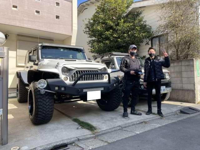 東京都のM社長様にLA BAD WRANGLERをご納車させて頂きました!
