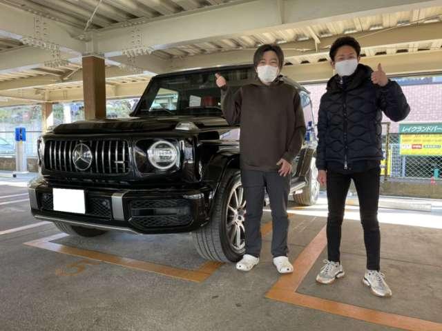 3台目のご用命有難う御座います!埼玉県のM先生にメルセデスベンツ AMG G63をご納車させて頂きました。